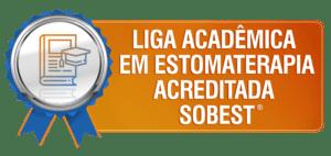 Selo de Liga Acadêmica em Estomaterapia acreditada pela SOBEST
