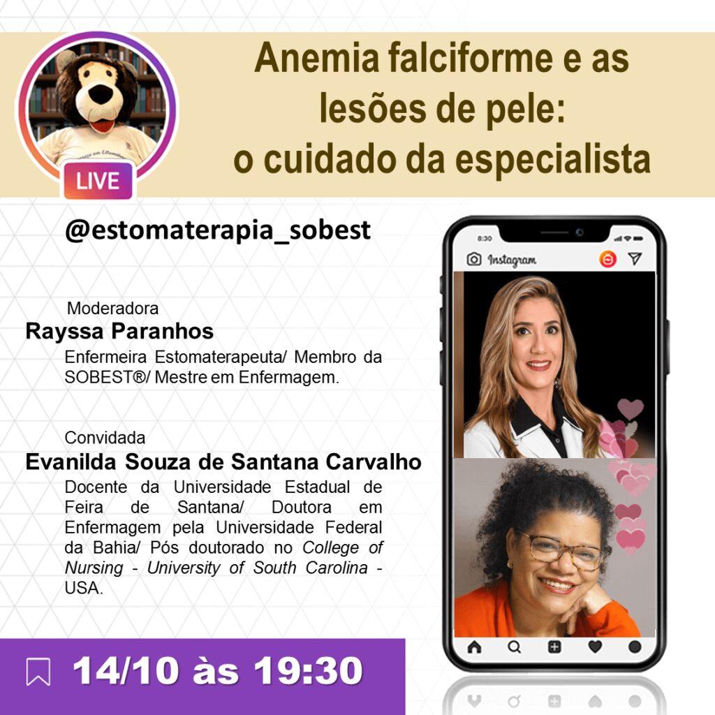 """Live """"Anemia alciforme e as lesões de pele: o cuidado do especialista"""""""