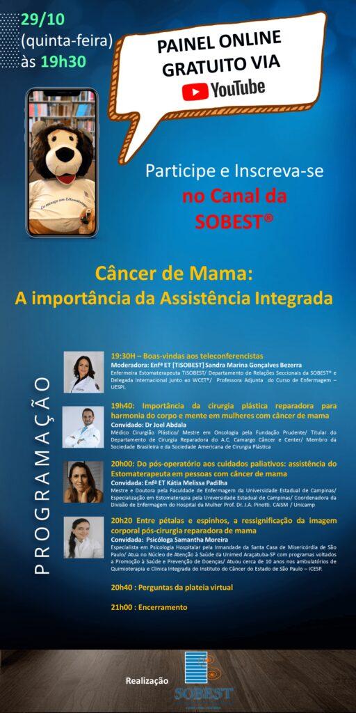 Câncer de mama: importância da assistência integrada