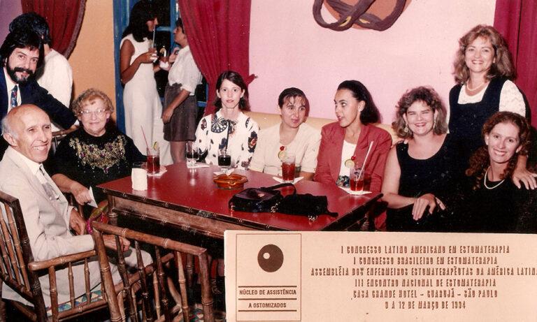 I Congresso Brasileiro e Latino-Americano de Estomaterapia, I Assembleia dos Enfermeiros Estomaterapeutas da América Latina e III Encontro Nacional de Estomaterapia. Guarujá, 1994.