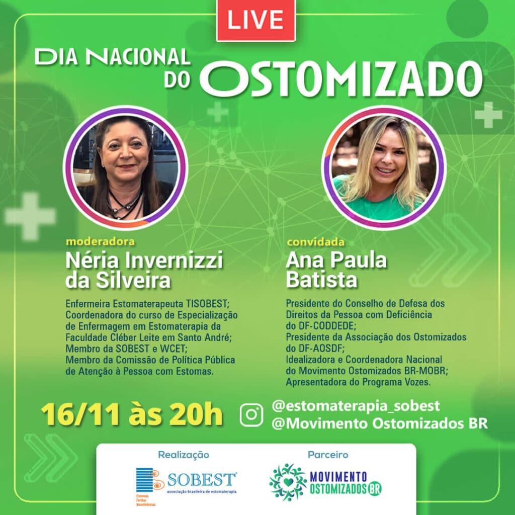 """Live """"Dia Nacional do Ostomizado"""""""