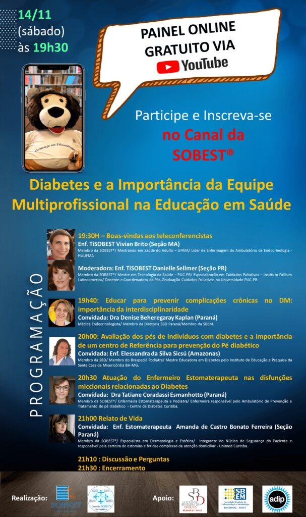 Diabetes e a importância da equipe multiprofissional na educação em saúde