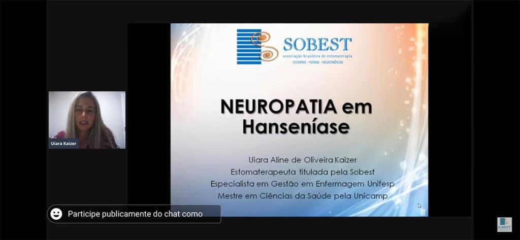 Evento Sobest Painel Hanseníase no Brasil