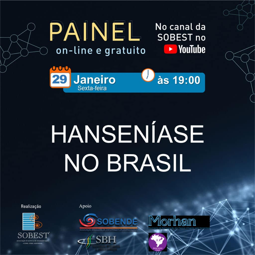 Painel On-line e Gratuito: Hanseníase no Brasil