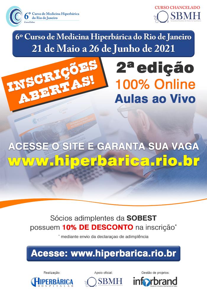 6º Curso de Medicina Hiperbárica do Rio de Janeiro