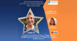 Entrevista com Porfª Vera Lúcia Gouveia dos Santos sobre premiação SOBEST Medalha de Bronze pelo JWC