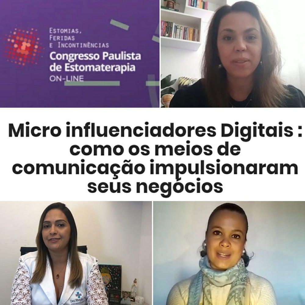 Evento apoiado pela SOBEST - Microinfluenciadores Digitais no Congresso Paulista de Estomaterapia