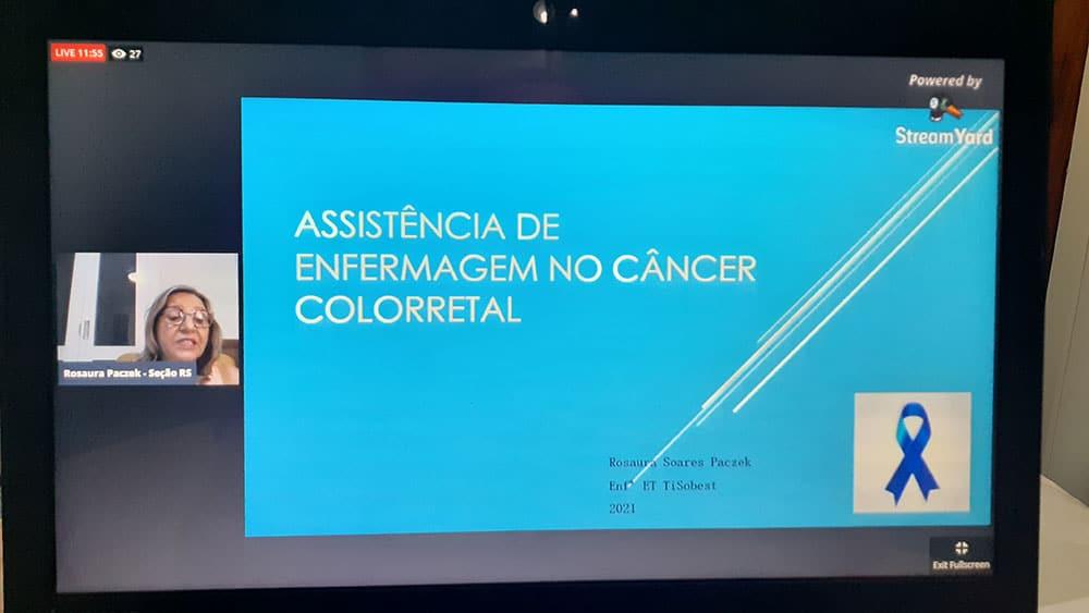 Evento SOBEST Enfrentando o Câncer Colorretal