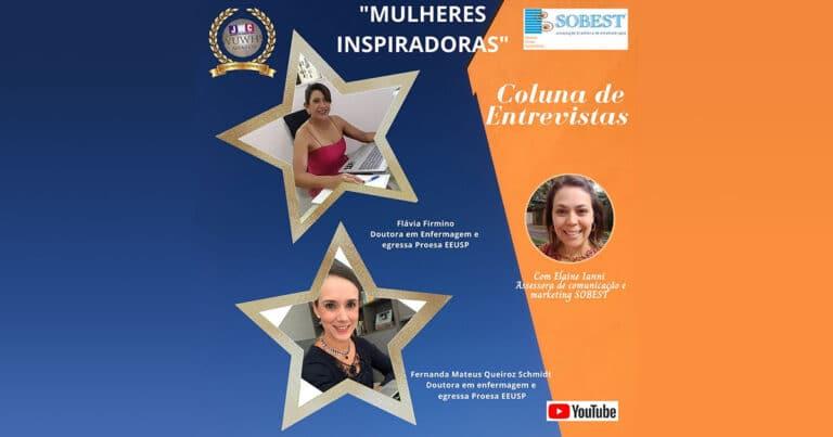Imprensa SOBEST Coluna de Entrevistas: Mulheres Inspiradoras