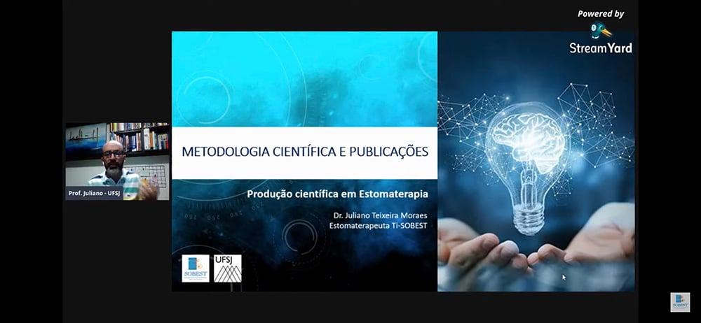 Evento SOBEST Painel On-Line Metodologia Científica e Publicações