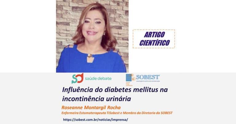 """ARTIGOS CIENTÍFICOS - """"Influência do diabetes mellitus na incontinência urinária"""""""