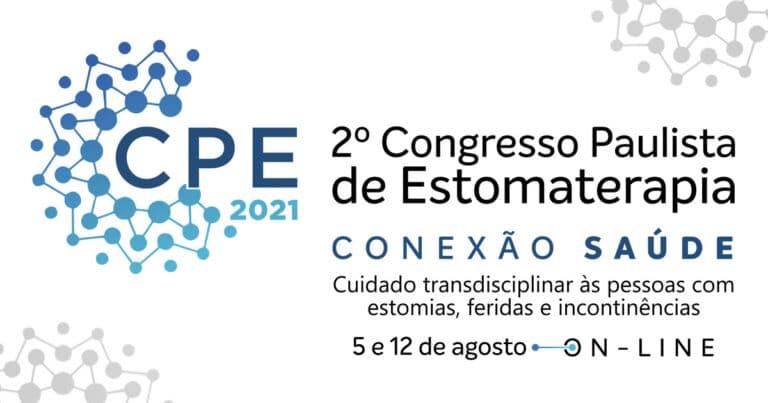 banner Evento SOBEST Save the Date Congresso Paulista de Estomaterapia Conexão Saúde