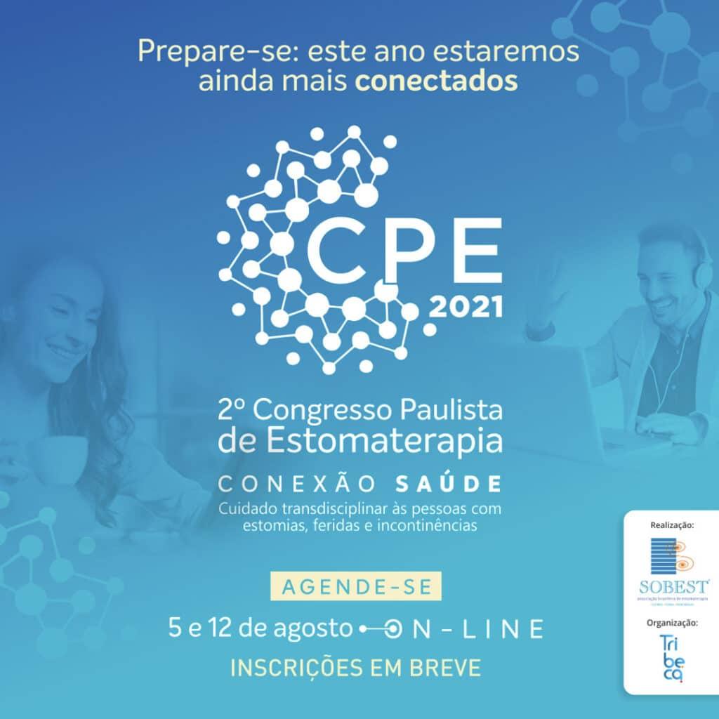 Evento SOBEST Save the Date Congresso Paulista de Estomaterapia Conexão Saúde