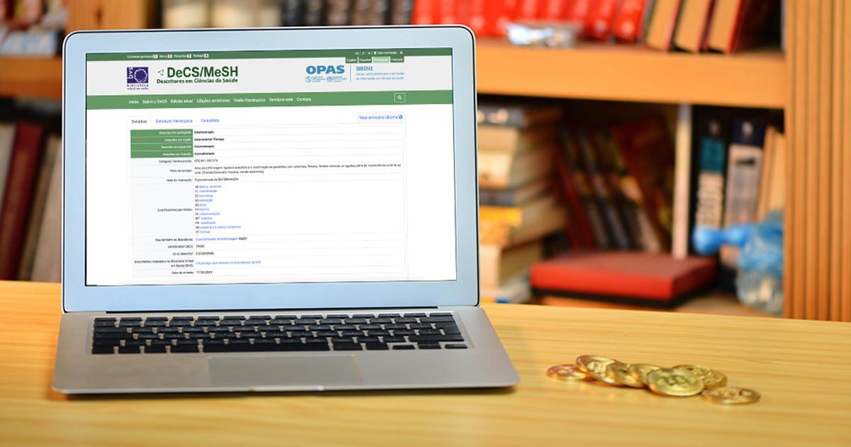Descritor em Ciências da Saúde (Decs) na Biblioteca Virtual em Saúde (BVS)