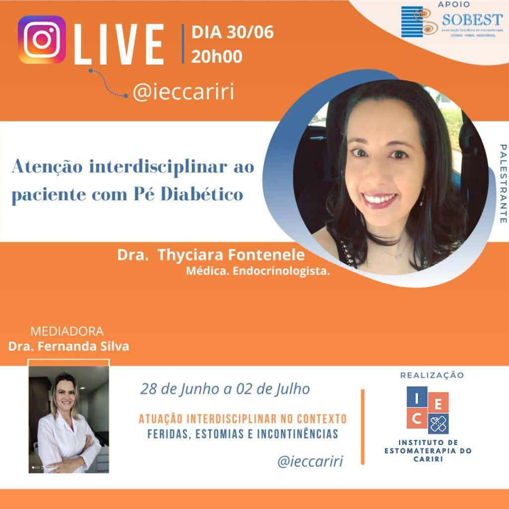II Semana de Estomaterapia Instituto de Estomaterapia de Cariri Palestra Pé Diabético