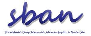 Logotipo SBAN Sociedade Brasileira de Alimentação e Nutrição