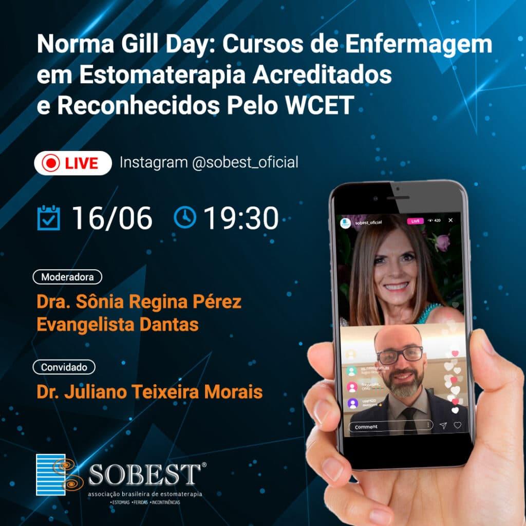 Live SOBEST Norma Gill Day: Cursos de Enfermagem em Estomaterapia Acreditados e Reconhecidos pelo WCET
