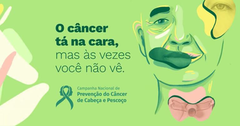 Campanha Nacional de Prevenção do Câncer de Cabeça e Pescoço faz alerta sobre diagnóstico precoce