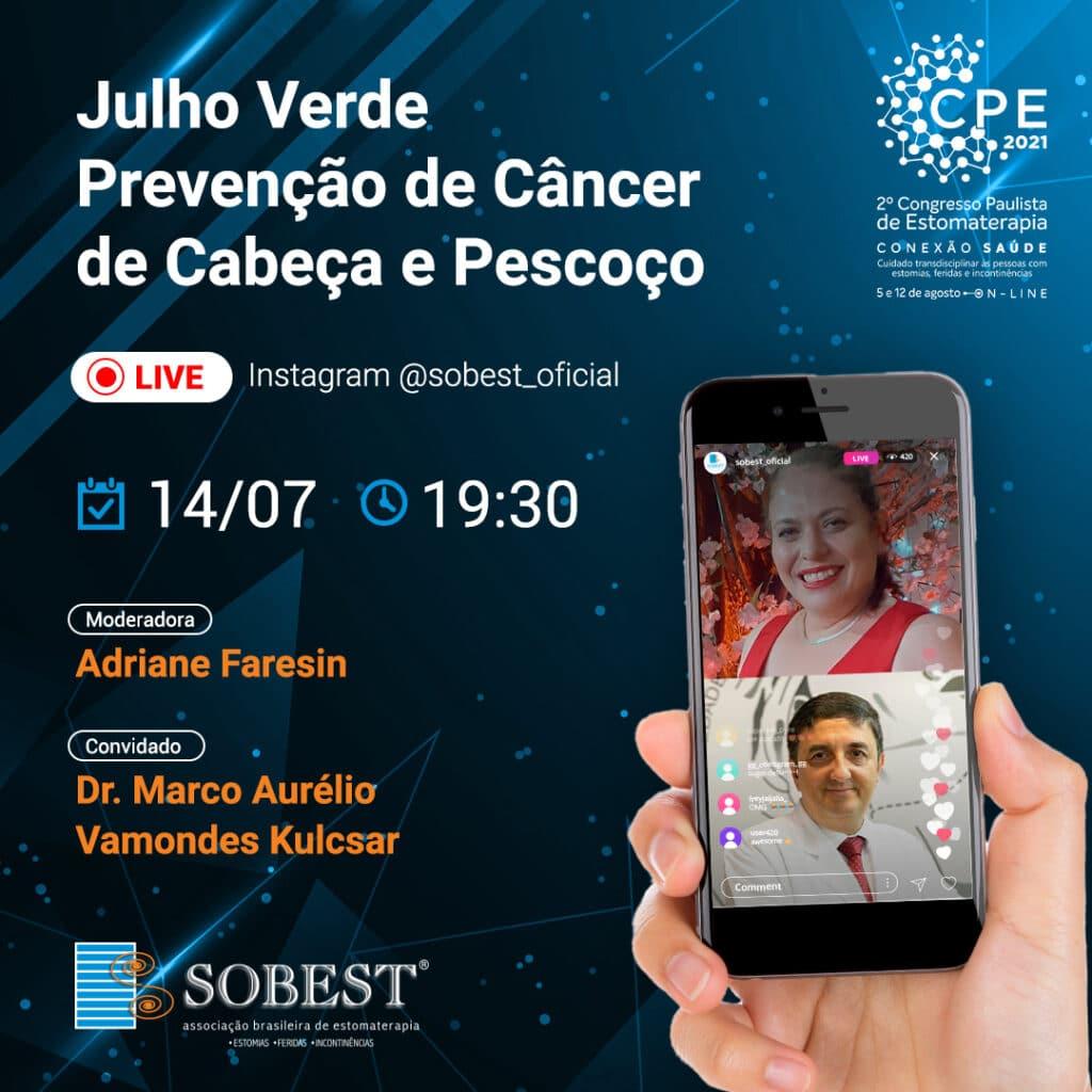 Julho Verde: Prevenção de Câncer de Cabeça e Pescoço