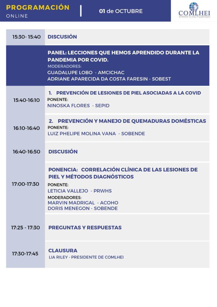 Programação COMLHEI 2021 Evento Gratuito