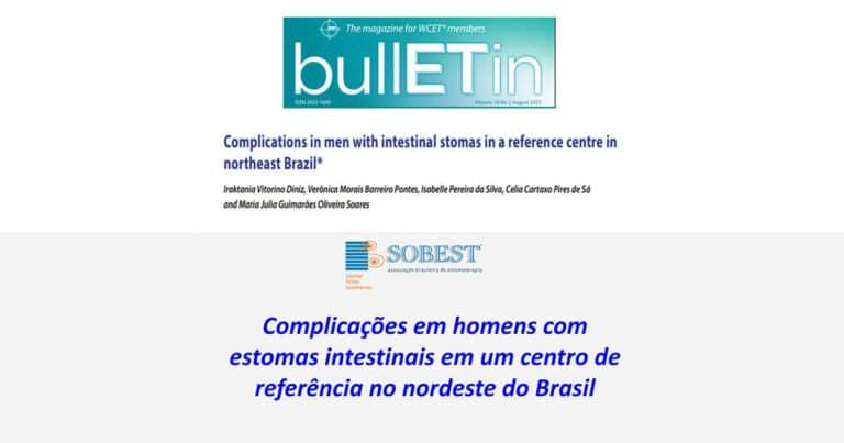WCET Bulletin Complicações em homens com estomas intestinais em um centro de referência no nordeste do Brasil
