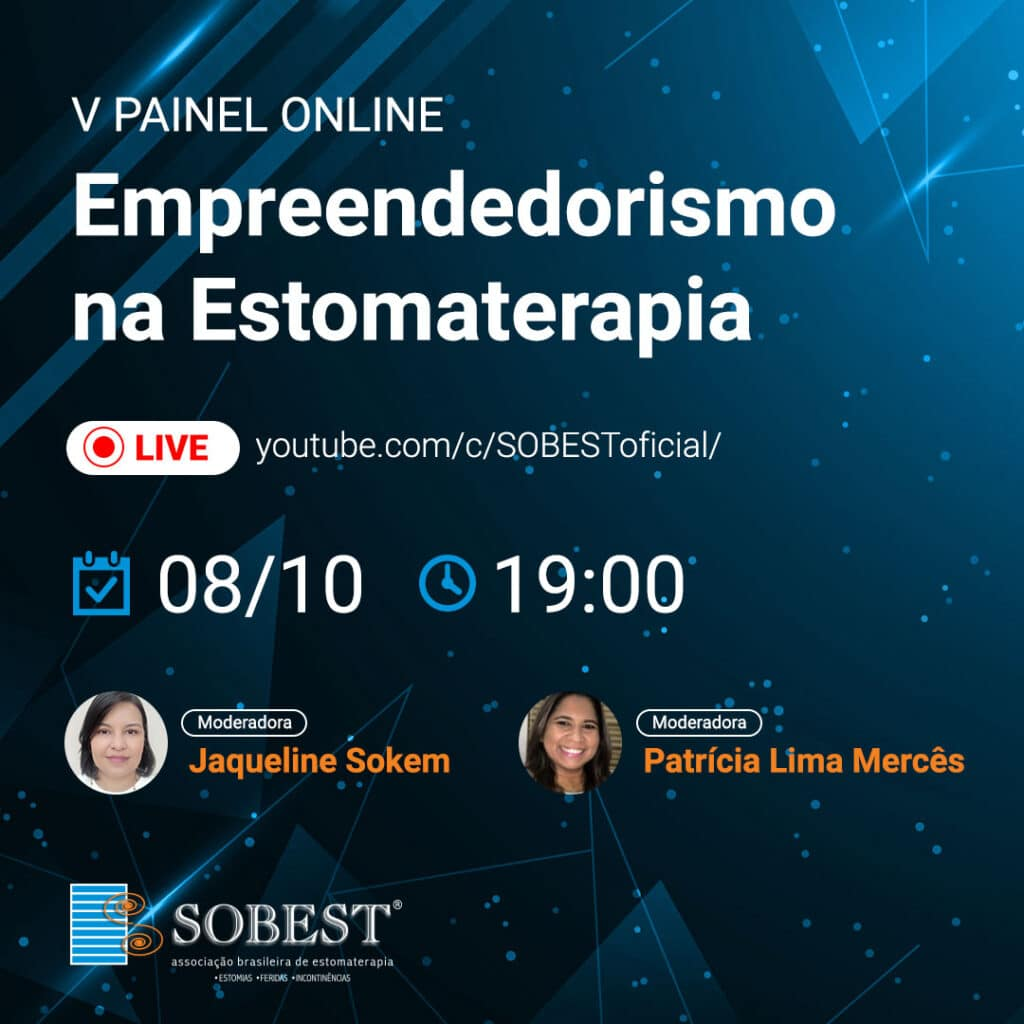 V Painel Online: Empreendedorismo na Estomaterapia - Moderadoras